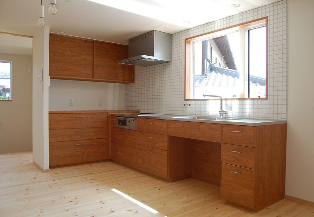 オーダーオリジナルキッチン029家具職人とのコラボレーションキッチン