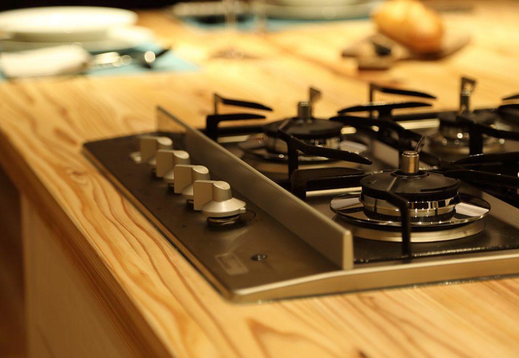 オーダーオリジナルキッチン038マンションなのに…「木の香る家」